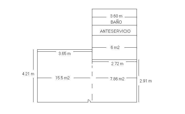 Plano - Local comercial en alquiler en El Naranjo-La Serna en Fuenlabrada - 322041144