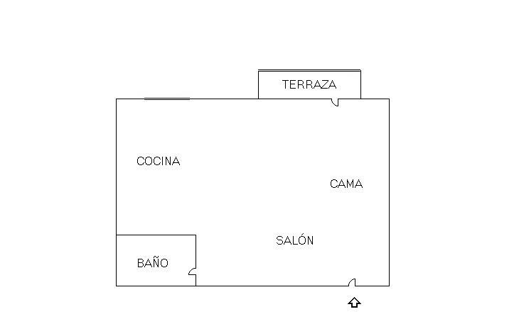 Plano - Piso en alquiler en Centro en Fuenlabrada - 331020434