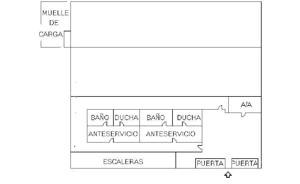 Plano - Nave en alquiler en Humanes de Madrid - 174581145