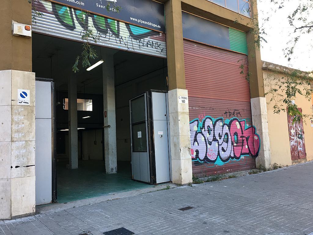 Fachada - Local en alquiler en calle Cristobal de Moura, Provençals del Poblenou en Barcelona - 326245189