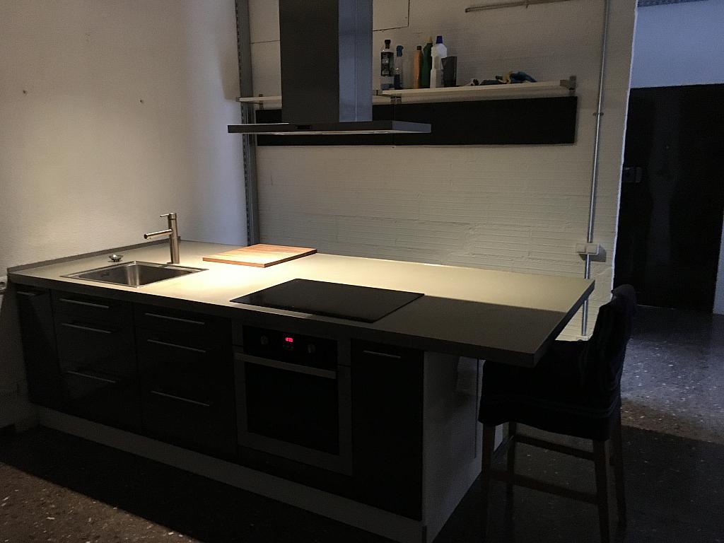 Cocina - Loft en alquiler en calle Juan D'àustria, El Poblenou en Barcelona - 331309762
