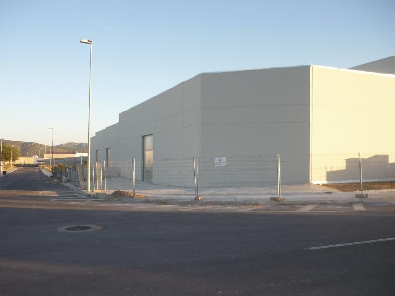 Fachada - Nave industrial en alquiler en polígono Caseta Blanca, Vall d´Alba - 55364503