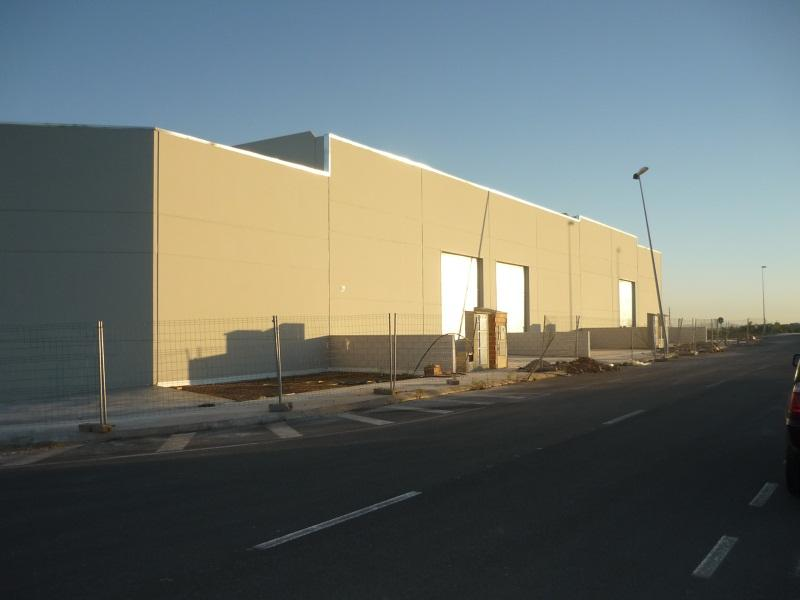 Fachada - Nave industrial en alquiler en polígono Caseta Blanca, Vall d´Alba - 55364510