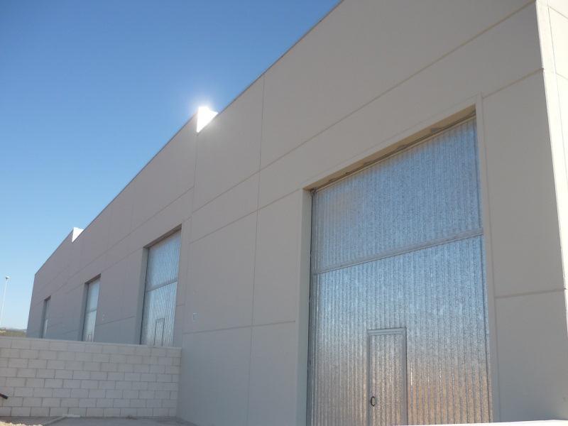 Fachada - Nave industrial en alquiler en polígono Caseta Blanca, Vall d´Alba - 55364521