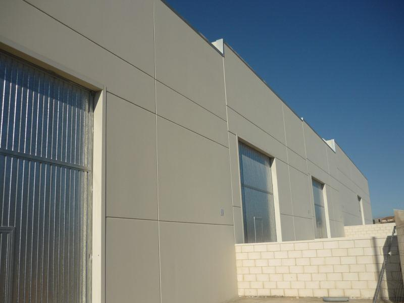 Fachada - Nave industrial en alquiler en polígono Caseta Blanca, Vall d´Alba - 55364523