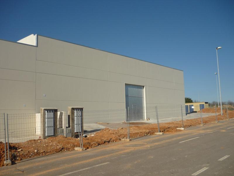 Fachada - Nave industrial en alquiler en polígono Caseta Blanca, Vall d´Alba - 55364526