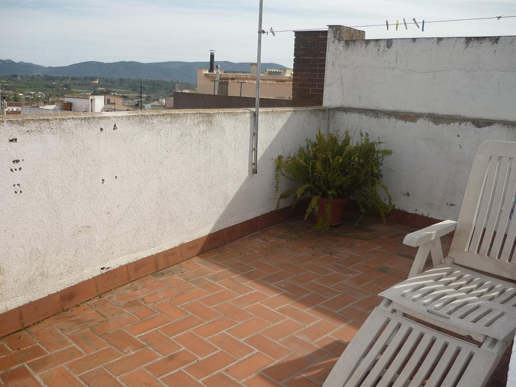 Terraza - Casa en alquiler en calle Mayor, Vall d´Alba - 168733398