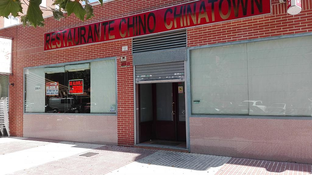 Fachada - Local comercial en alquiler en calle Ibiza, Humanes de Madrid - 295389096