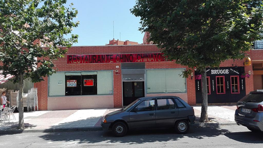 Fachada - Local comercial en alquiler en calle Ibiza, Humanes de Madrid - 295389098