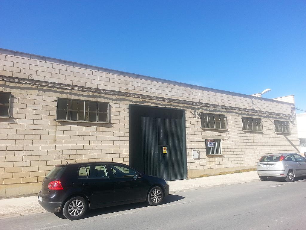 Fachada - Nave industrial en alquiler en calle Campo Azalvaro, Ávila - 258915863