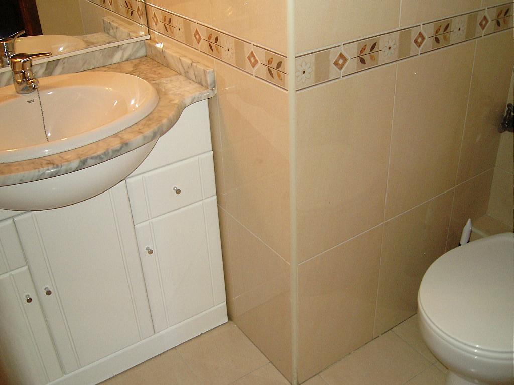 Baño - Piso en alquiler en calle Fray Gil, Las Vacas-Sur en Ávila - 326240754