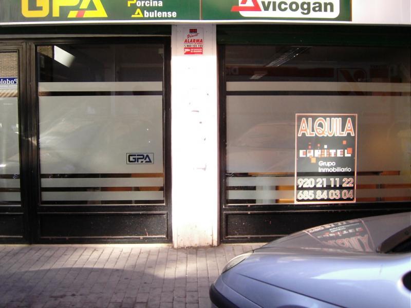 Fachada - Oficina en alquiler en paseo De San Roque, San Roque en Ávila - 81658061