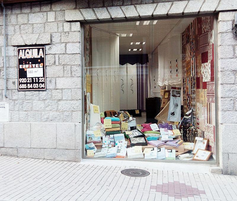 Fachada - Local en alquiler en paseo Santo Tomas, Santo Tomás en Ávila - 137813350
