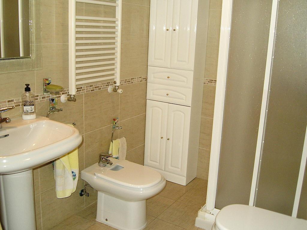 Baño - Apartamento en alquiler en calle Agustin Rodriguez Sahagún, Ávila - 157850419