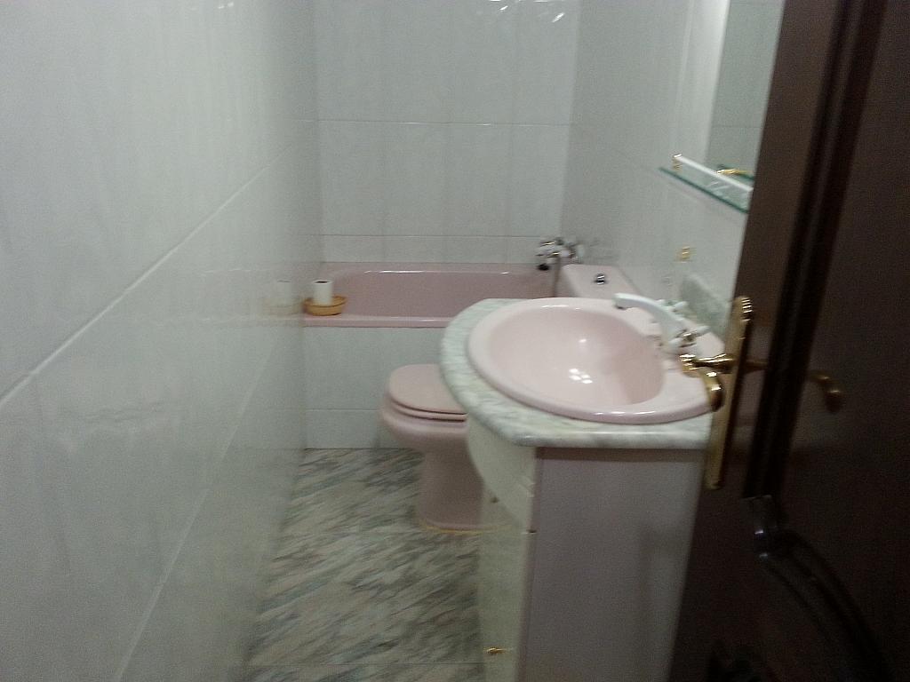 Baño - Piso en alquiler en paseo De la Estacion, Ávila - 190141662