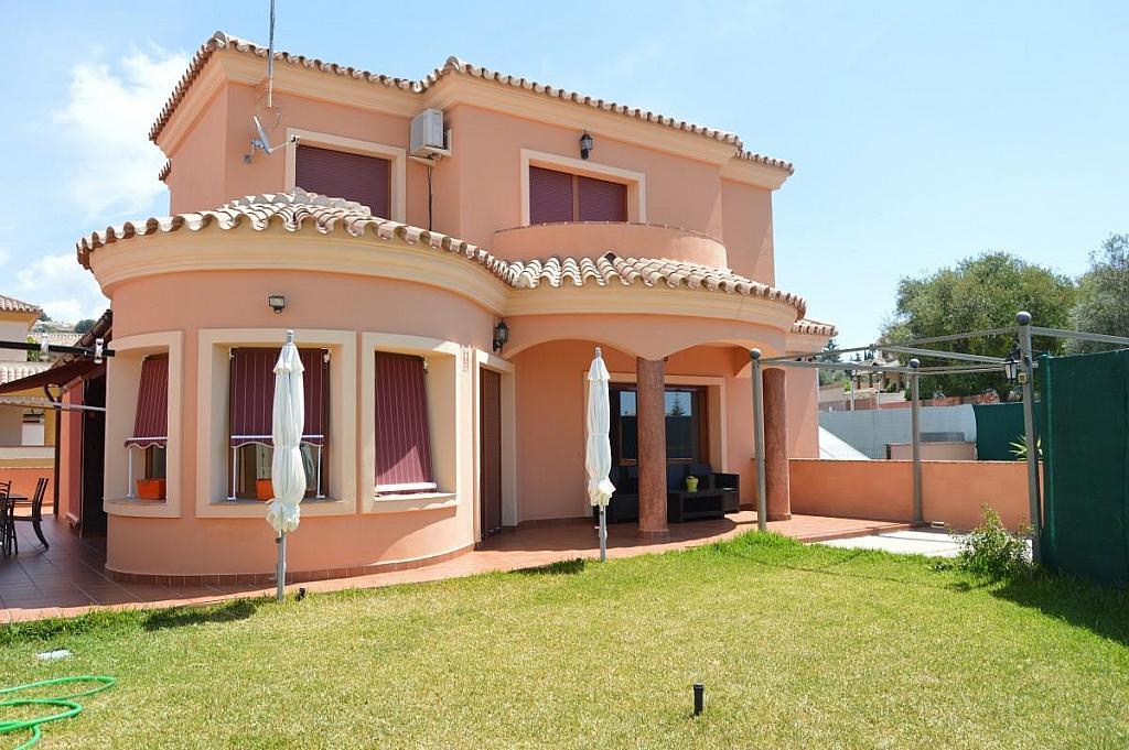 Fachada - Villa en alquiler en calle Lagunas, Mijas Costa - 272644315