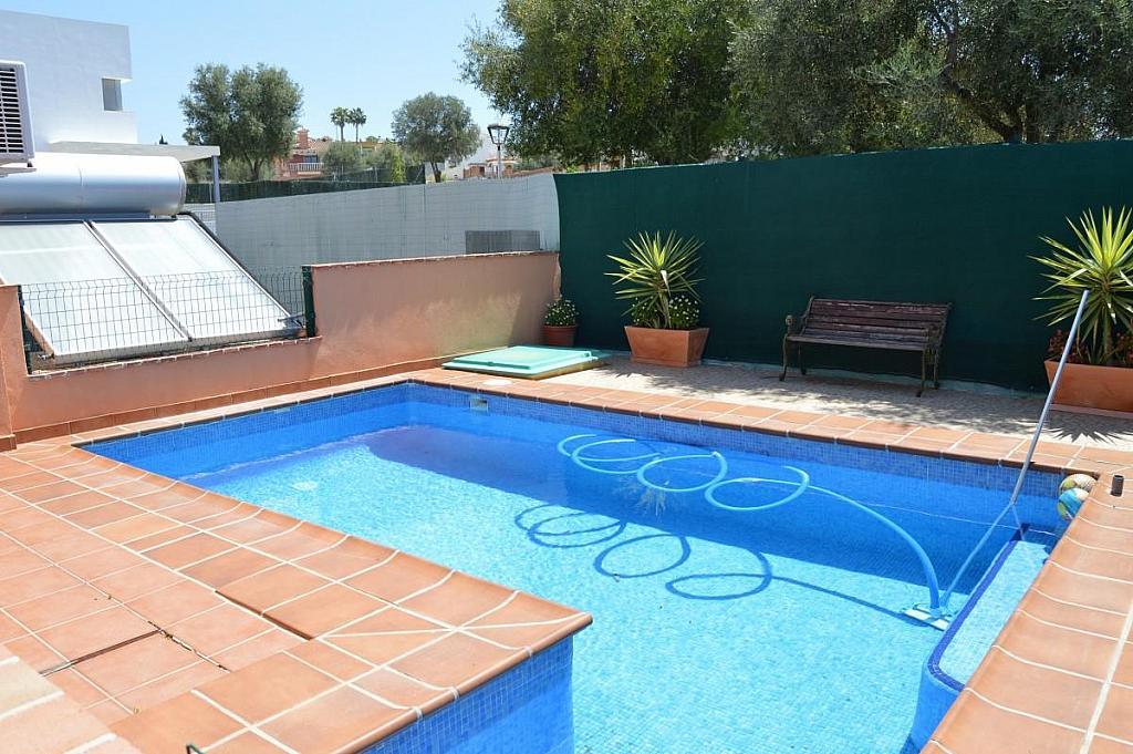 Piscina - Villa en alquiler en calle Lagunas, Mijas Costa - 272644316