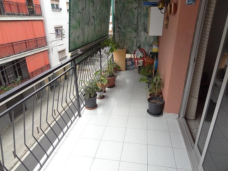 Terraza - Piso en alquiler en calle Pilar, Premià de Mar - 328525306