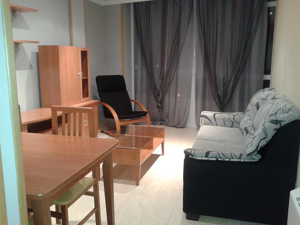 Salón - Piso en alquiler de temporada en calle Pardo Bazan, Burela - 309266701