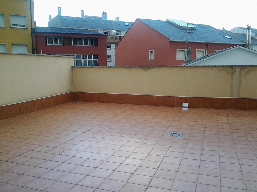 Terraza - Piso en alquiler de temporada en calle Concepcion Arenal, Burela - 309267953