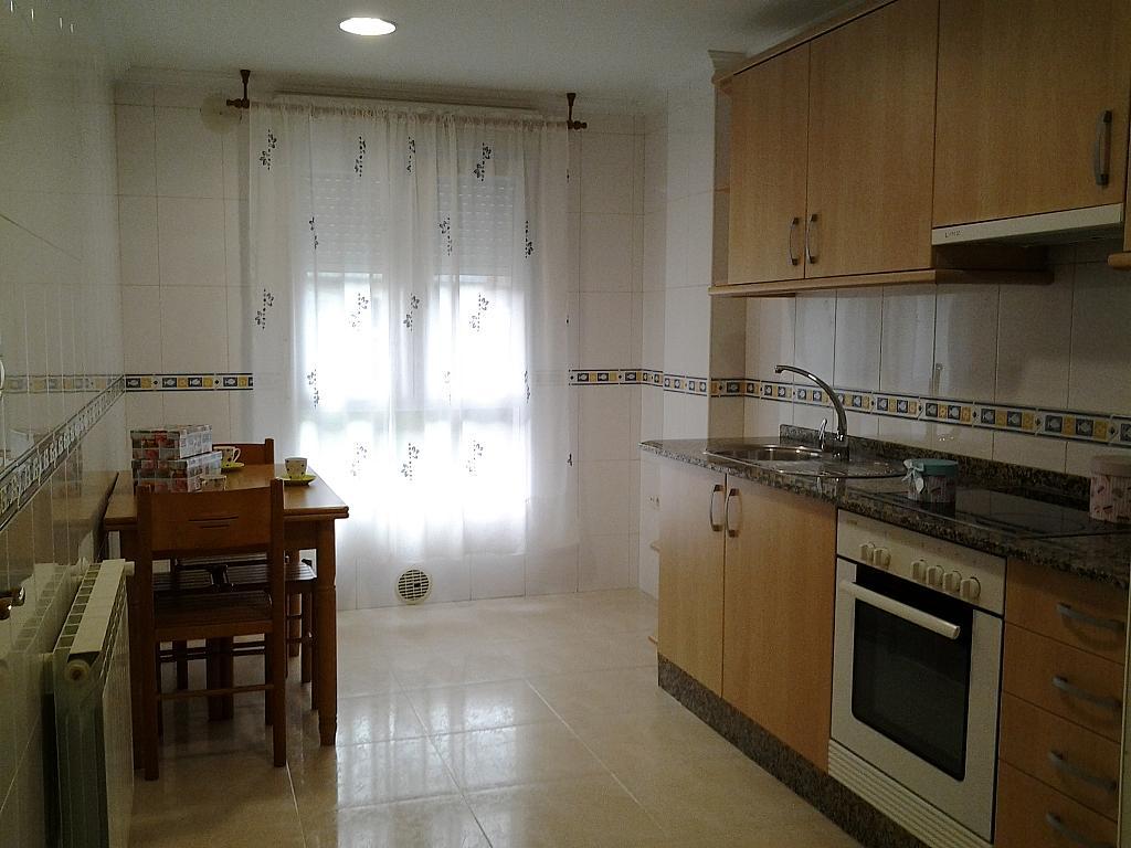 Cocina - Piso en alquiler de temporada en calle Concepcion Arenal, Burela - 309268340