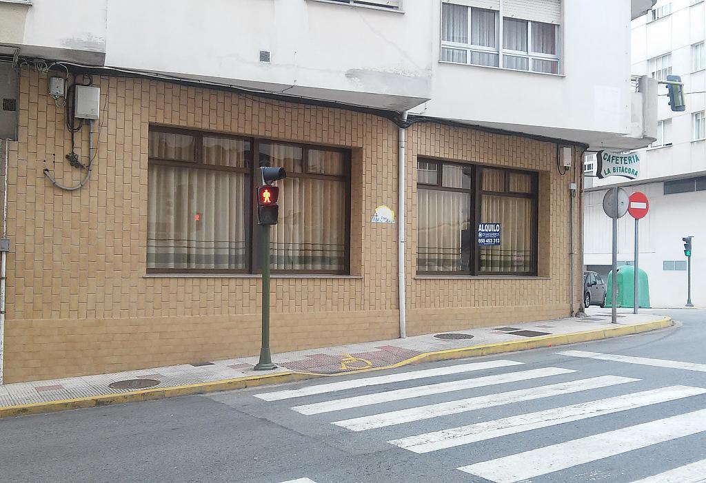 Fachada - Local comercial en alquiler en calle Rosalia de Castro, Burela - 206131677