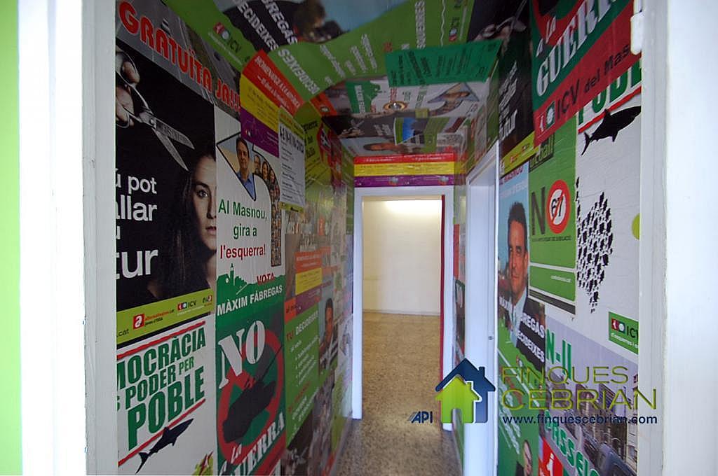 Imagen del inmueble - Local comercial en alquiler en calle Prat de la Riba, Masnou - 292691141