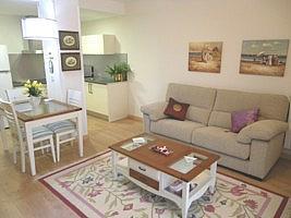 Salón - Piso en alquiler en calle Barcelona, Covaresa-Parque Alameda-Las Villas-Santa Ana en Valladolid - 221454609