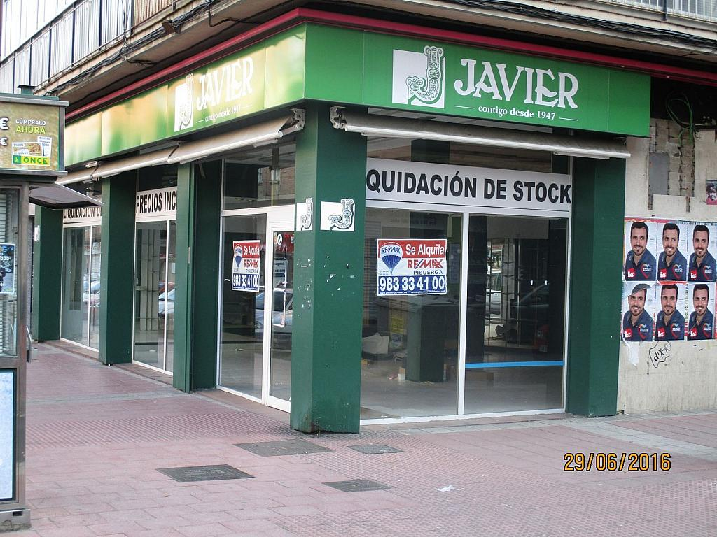 Local comercial en alquiler en calle Cardenal Cisneros, Rondilla-Pilarica-Vadillos-Bº España-Santa Clara en Valladolid - 362267771