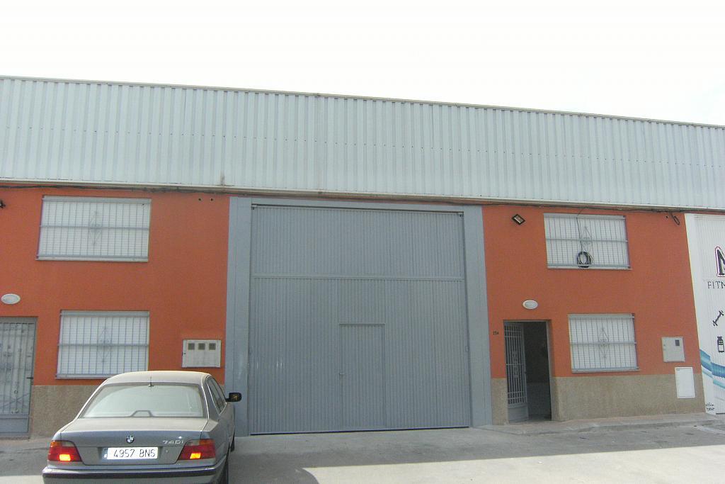 Fachada - Nave industrial en alquiler en calle Carril de la Manresa, Puente Tocinos - 248044208