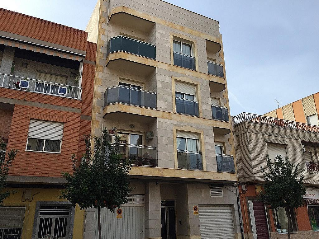 Fachada - Apartamento en alquiler en calle Reyes Católicos, Campoamor en Alcantarilla - 259556129