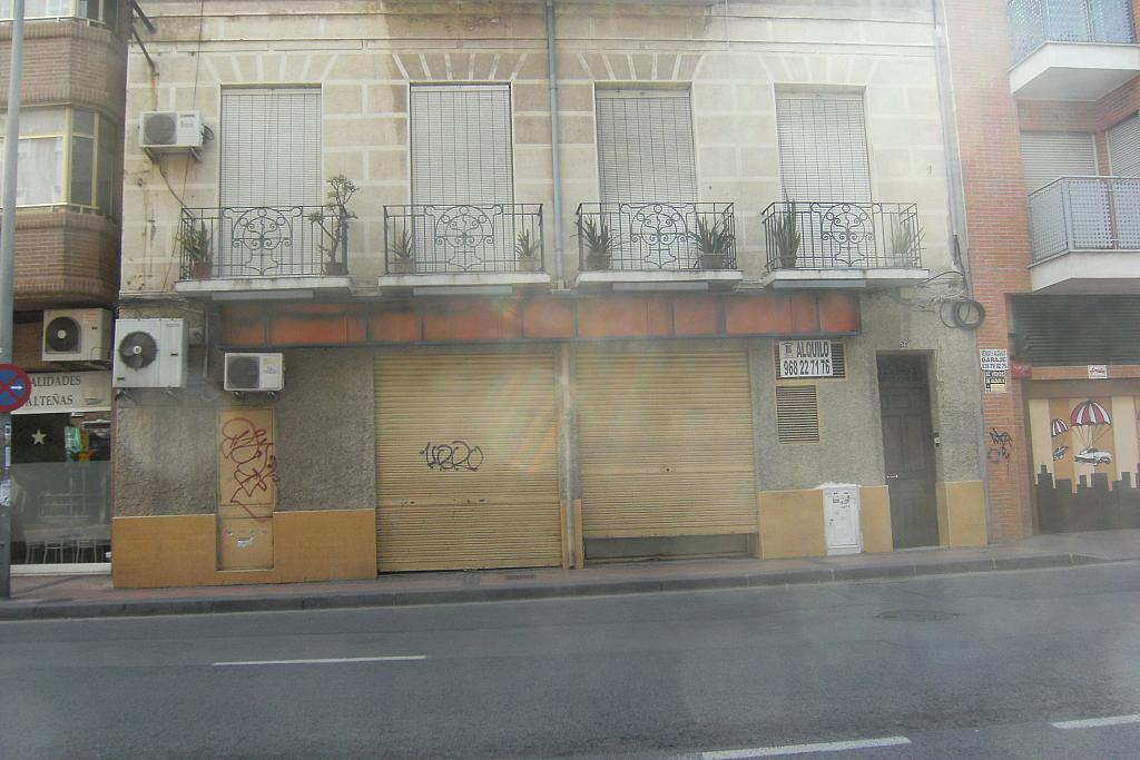 Fachada - Local comercial en alquiler en calle Torre de Romo, El Carmen en Murcia - 277570144