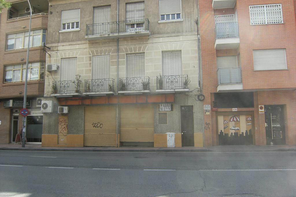 Fachada - Local comercial en alquiler en calle Torre de Romo, El Carmen en Murcia - 277570209