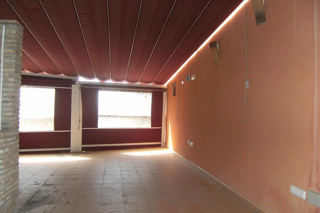 Terraza - Local comercial en alquiler en calle Saavedra Fajardo, Algezares - 289774253