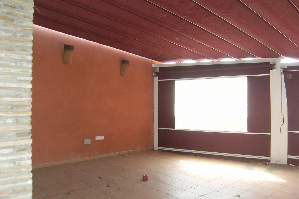 Terraza - Local comercial en alquiler en calle Saavedra Fajardo, Algezares - 289774256