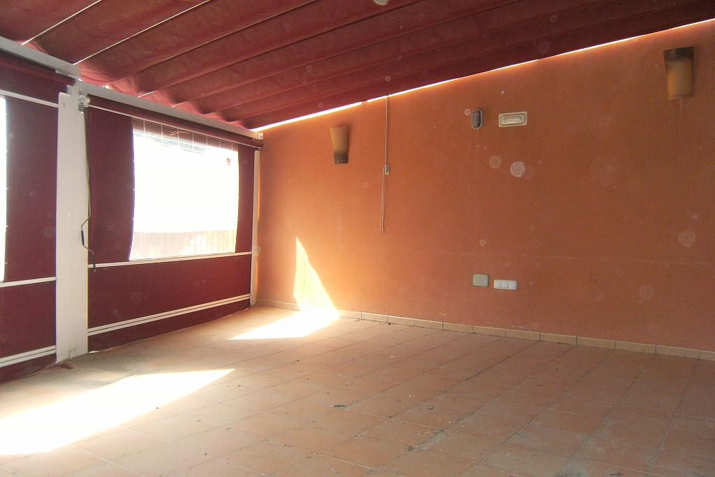Terraza - Local comercial en alquiler en calle Saavedra Fajardo, Algezares - 289774259