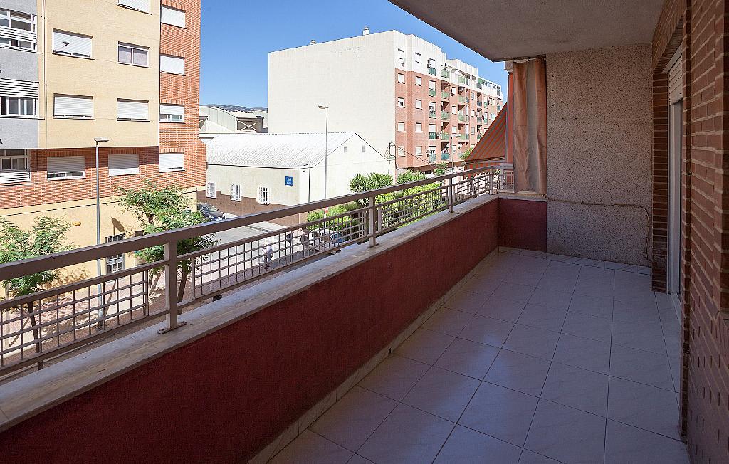 Balcón - Piso en alquiler en plaza De Las Flores, Huerto de los Frailes en Alcantarilla - 293076250