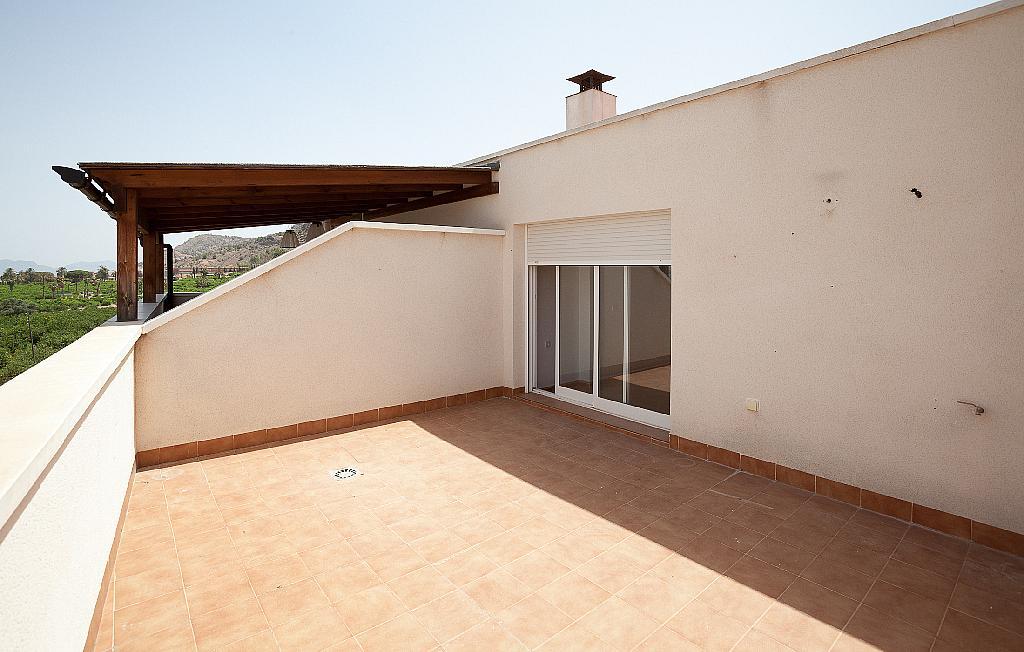 Terraza - Ático-dúplex en alquiler en calle Ciudad de Murcia, Beniaján - 300923838