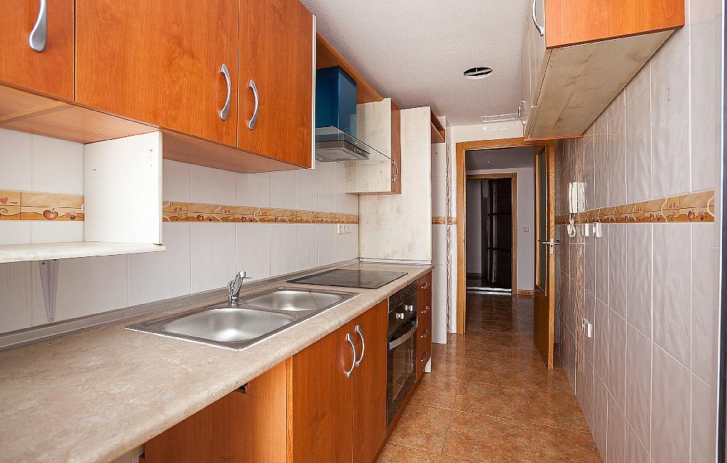 Cocina - Ático-dúplex en alquiler en calle Ciudad de Murcia, Beniaján - 300923843