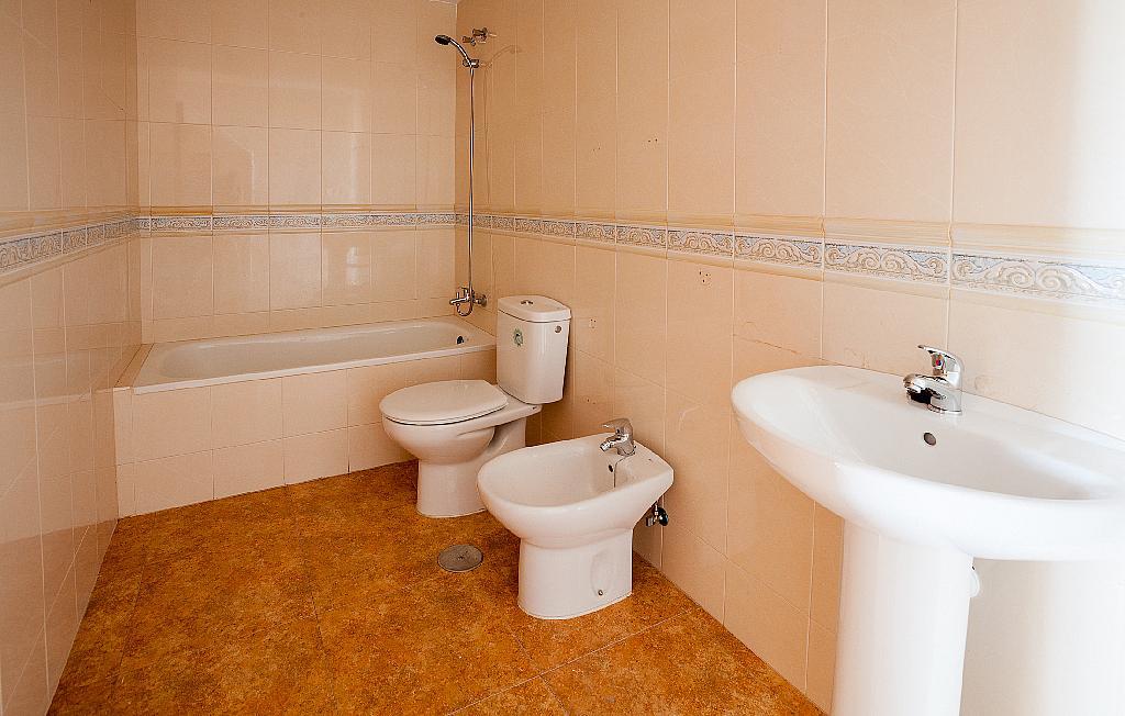 Baño - Ático-dúplex en alquiler en calle Ciudad de Murcia, Beniaján - 300923855