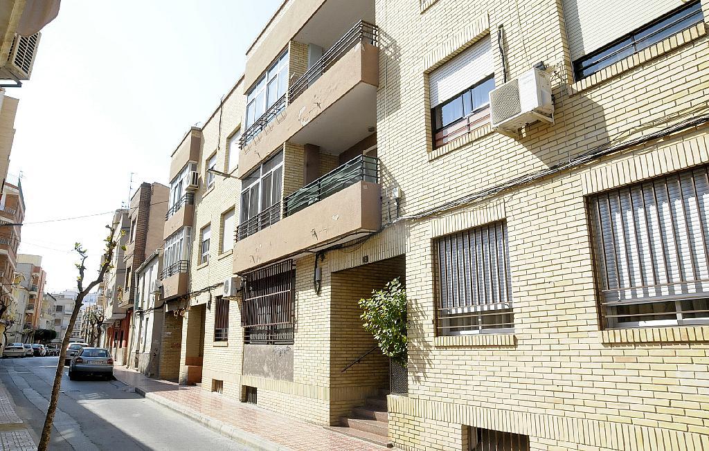 Fachada - Piso en alquiler en calle De la Cruz, San Roque en Alcantarilla - 320705528