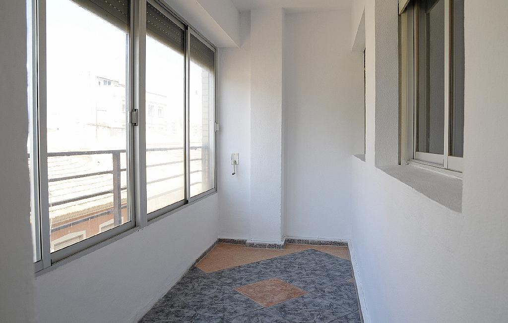 Balcón - Piso en alquiler en calle De la Cruz, San Roque en Alcantarilla - 320705558