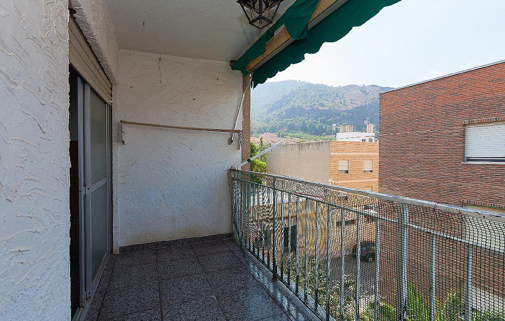 Balcón - Piso en alquiler en calle Levante, Garres, los - 329078401