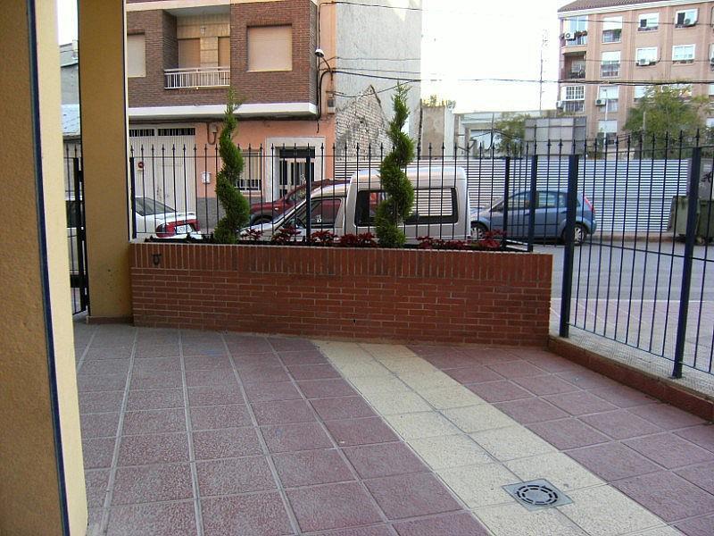 Fachada - Local en alquiler en plaza Pepe de la Pequeña Esquina, Vistabella en Alcantarilla - 155139381