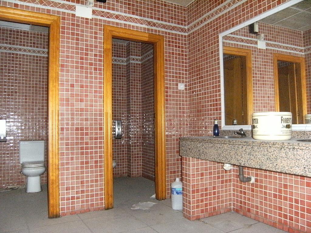 Baño - Local comercial en alquiler en calle Gonzalez Adalid, La Catedral en Murcia - 166210370
