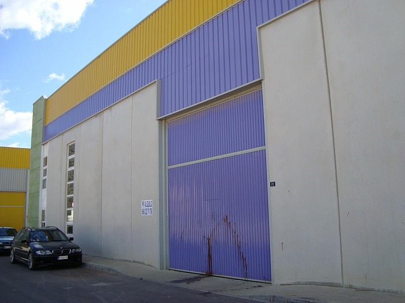Fachada - Nave industrial en alquiler en calle La Polvorista, Molina de Segura - 187077097