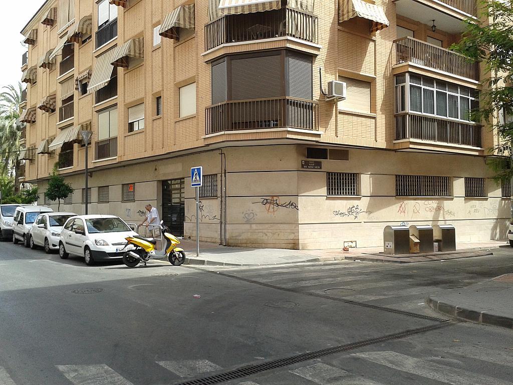 Fachada - Local comercial en alquiler en plaza De España, San Pedro en Alcantarilla - 188526003