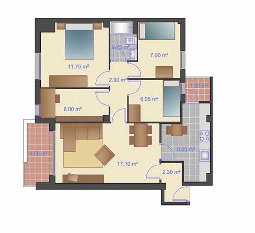 Piso en alquiler en Morera en Badalona - 74954676