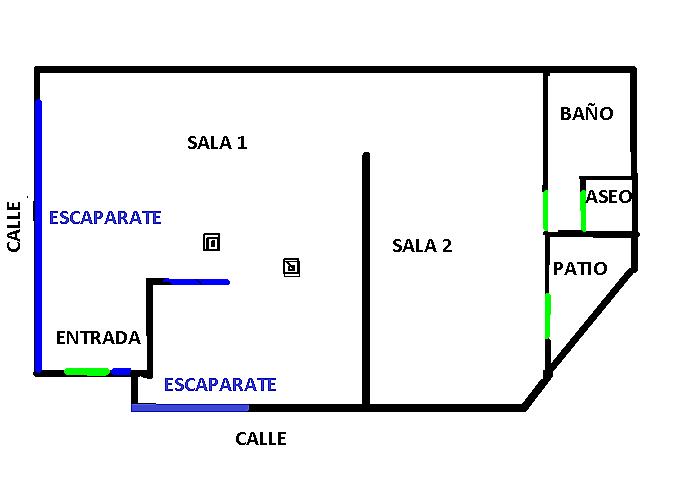 Plano - Local en alquiler en calle Tomas Gimenez, Pubilla cases en Hospitalet de Llobregat, L´ - 326671274