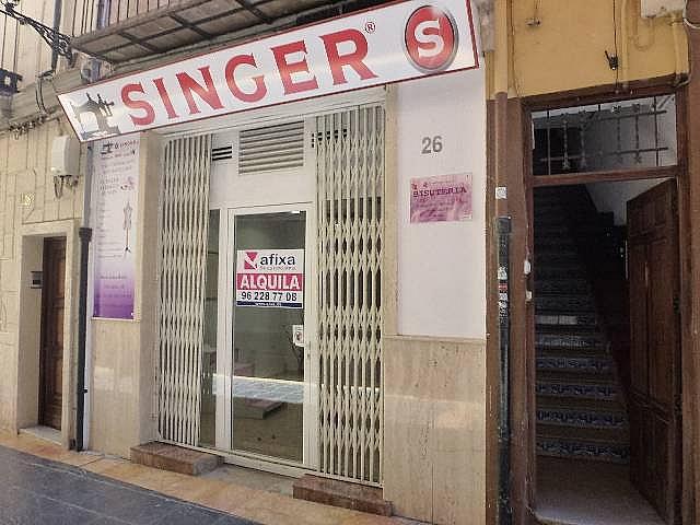 Local comercial en alquiler en calle Botigues, Xàtiva - 290677249
